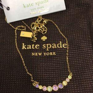 Kate Spade ♠️ Full Circle Bezel Set Colored Cz